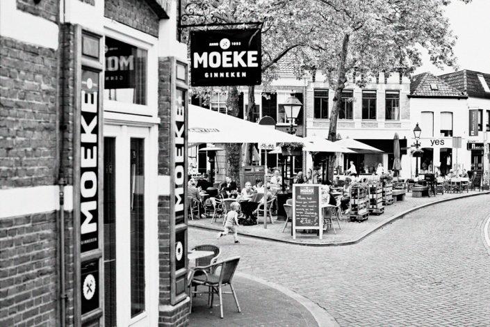 Sfeerimpressie fotografie bedrijf Breda Ginneken zwart wit horeca