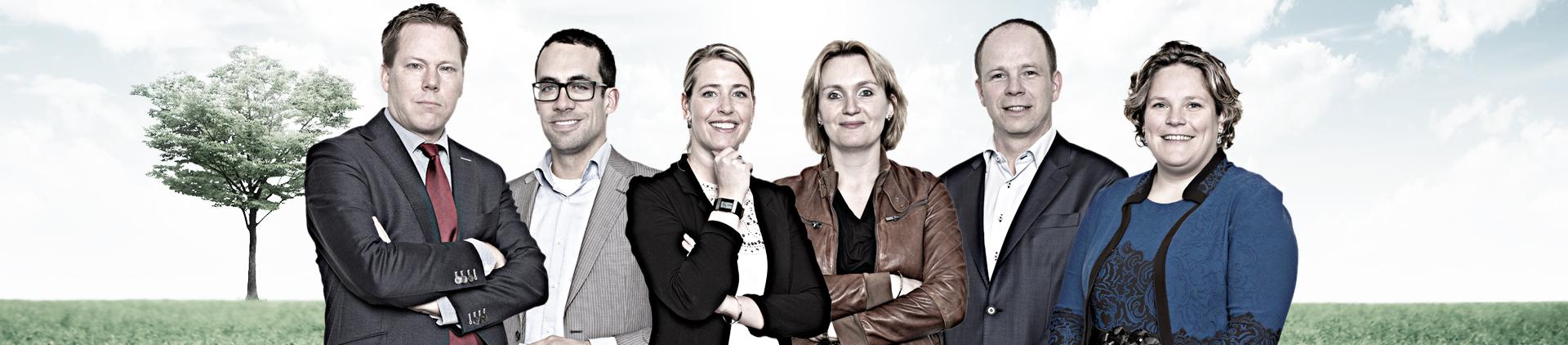 groepsportret bedrijfsportret portret Breda advocaten